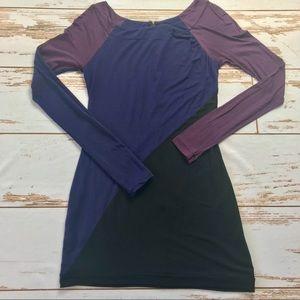 Rag & Bone Diagonal Color Block Tunic/Dress Size 4